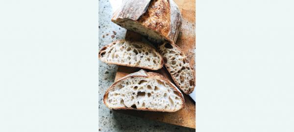 Maak je eigen brood op de boerderij