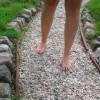 Op je blote voeten door de natuur