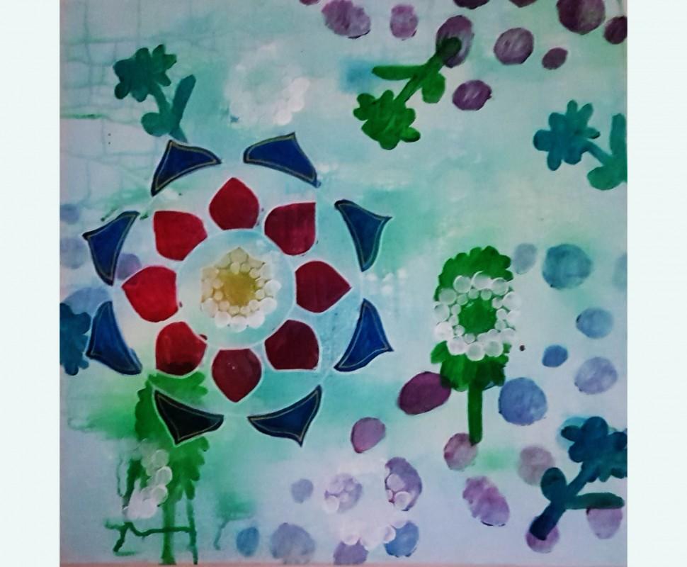 Verslag Mandala's schilderen
