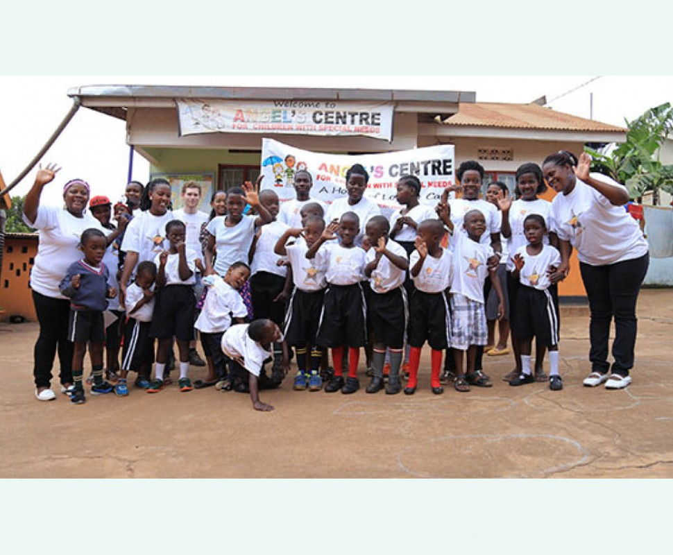 Expo over kinderen met een beperking in Oeganda